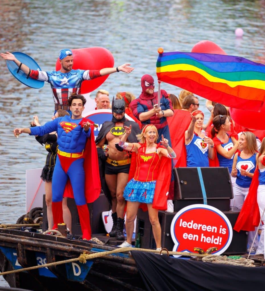 Gay Pride boot Heroes