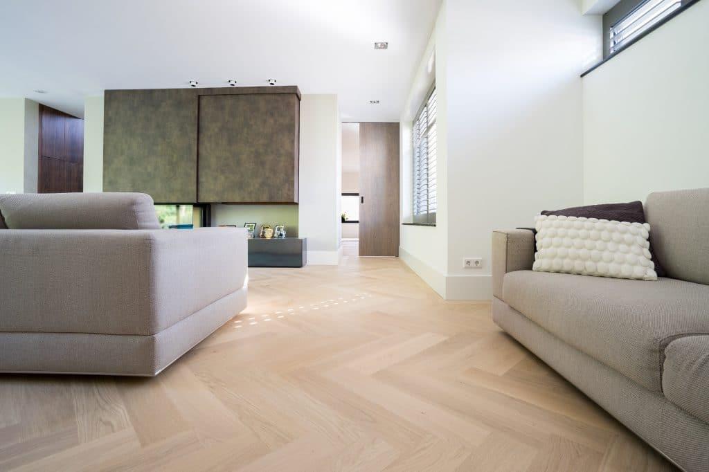 Moderne Visgraat Vloer : Veelzijdig met visgraat vloer