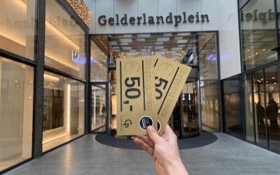 WINNEN!! 2 X 50 EURO SHOPTEGOED BIJ HET GELDERLANDPLEIN!