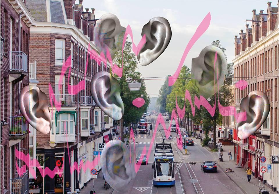 Geluidswandeling CC Amstel