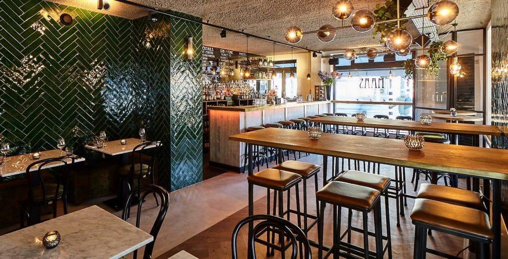 Maas Bar & Kitchen koffie Amsterdam Zuid