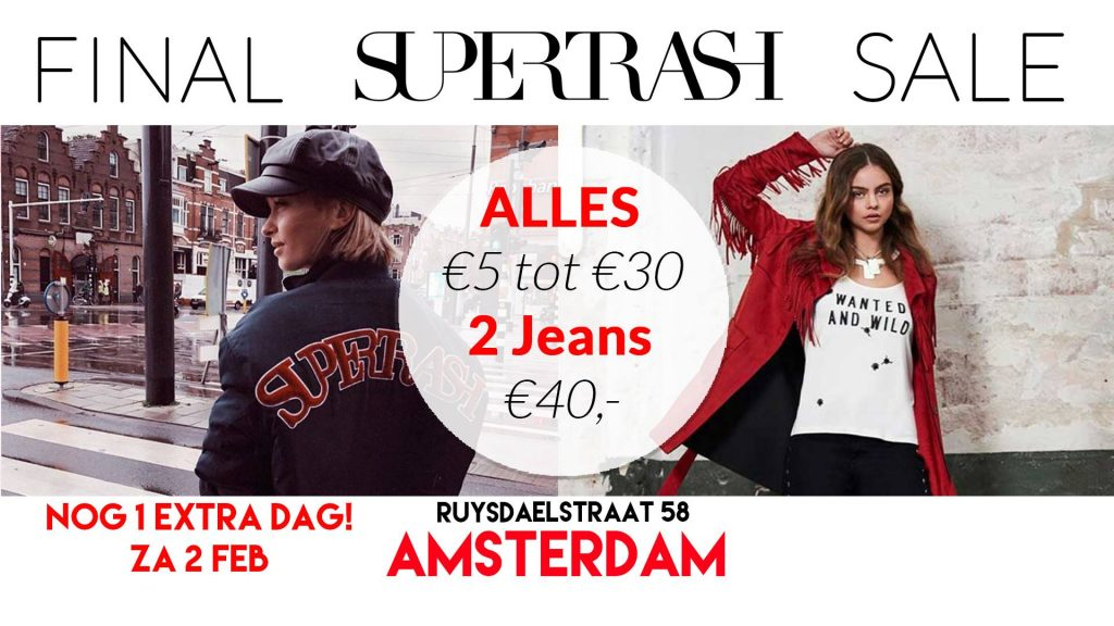 Supertrash Sample Sale