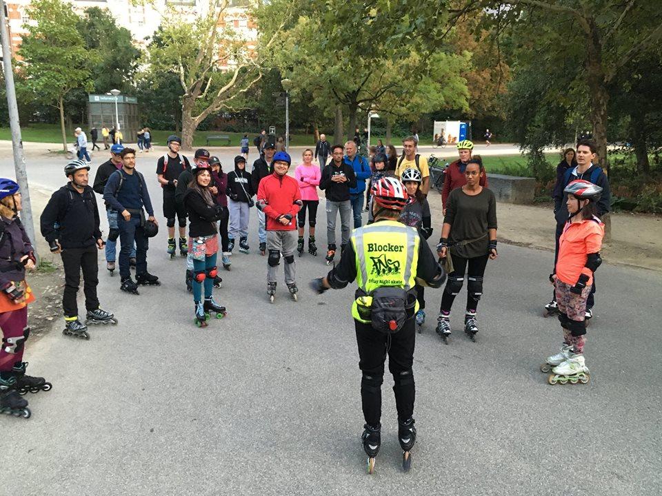 15 februari Amsterdam Zuid Skate Vondelpark