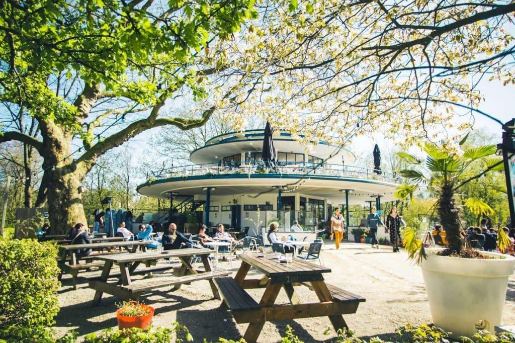 Blauwe Theehuis Vondelpark Brouwerij 't IJ