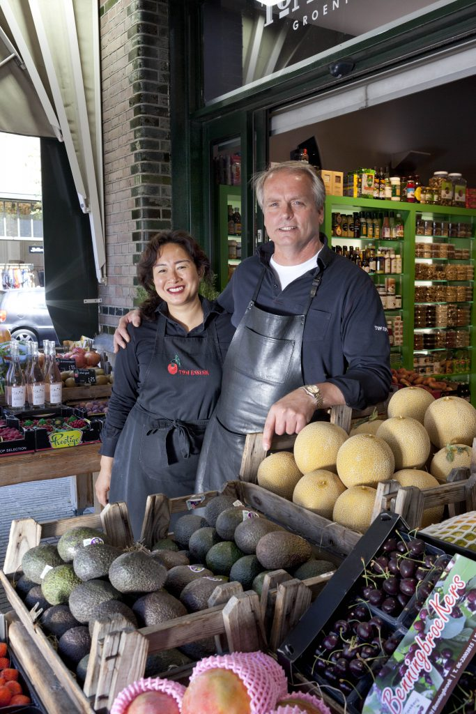 Groentenboer Tom Ensink Amsterdam Zuid In DE Schuyt