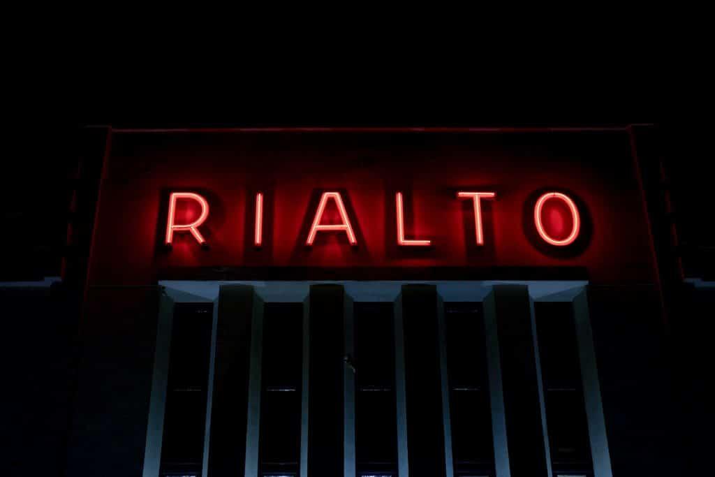 Rialto theater Ceintuurbaan