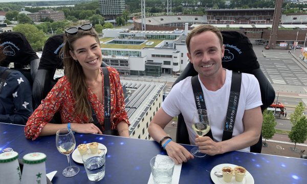 DE REDACTIE TEST: DINNER IN THE SKY NEDERLAND