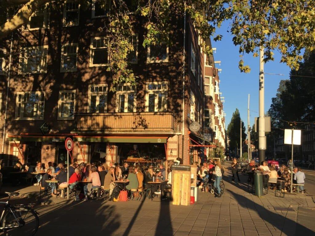 Lokaal van de stad