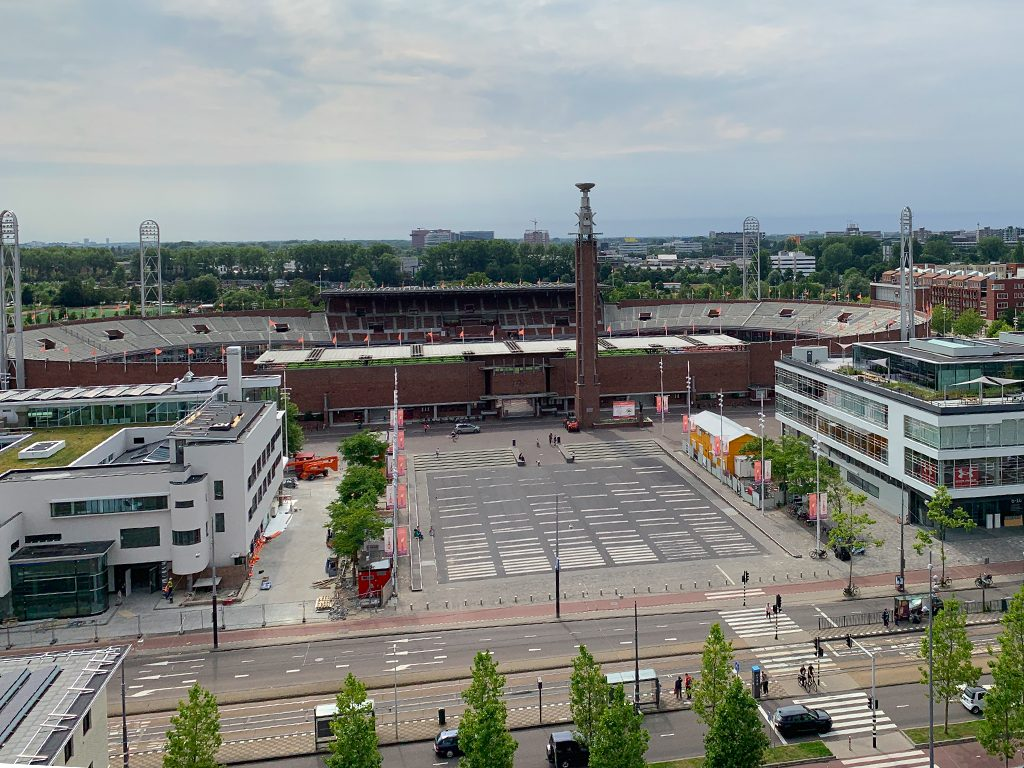 Dinner in the Sky Olympisch Stadion