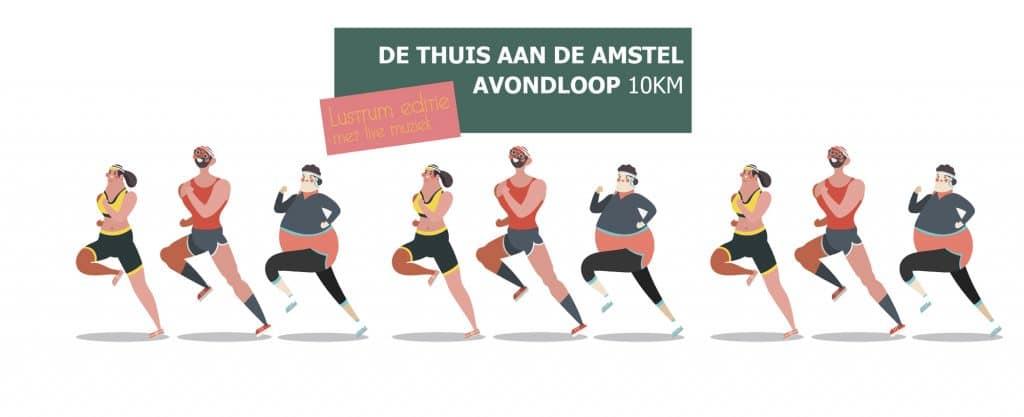 Thuis aan de Amstel Avondloop