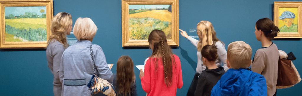 Familievoorstelling Van Gogh Museum