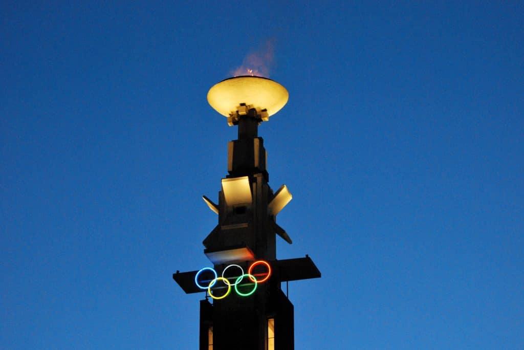 Marathontoren Olympisch Stadion
