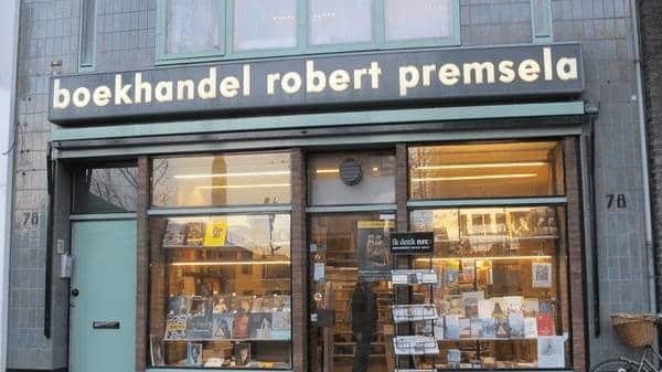 Boekhandel Robert Premsela via Museumquarter